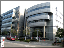 (財)京都産業21がある京都リサーチパーク
