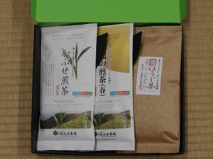 和束茶三種「茶ざんまい」
