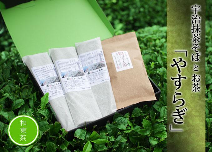 【お中元】抹茶そばとお茶【やすらぎ】