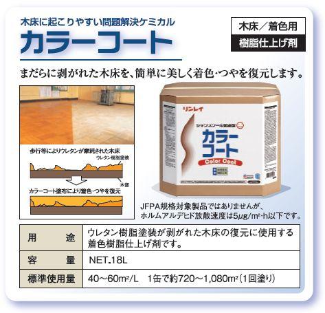 木床復元用樹脂ワックス 『カラーコート RECOBO』 の性能