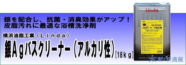 『銀Agバスクリーナー(アルカリ性)』 (18L)